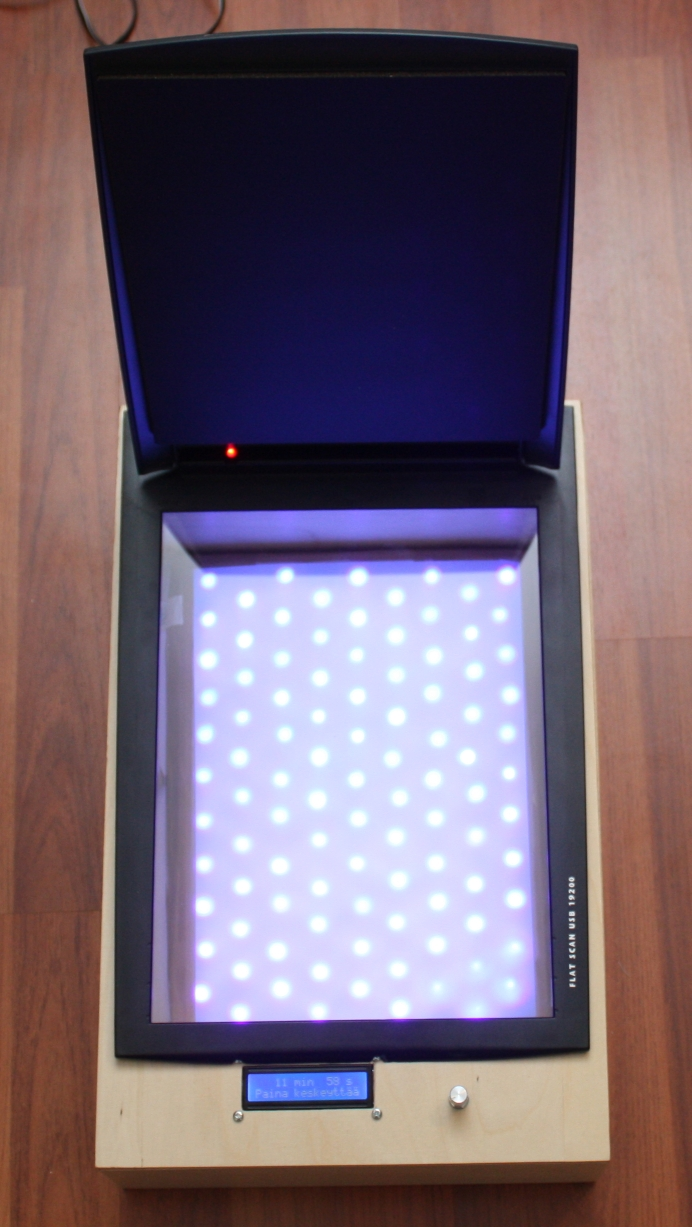 Uv Led Pcb Exposure Box Just Add Electrons Circuit Board Picture Frames Printed Boards Pinterest Open