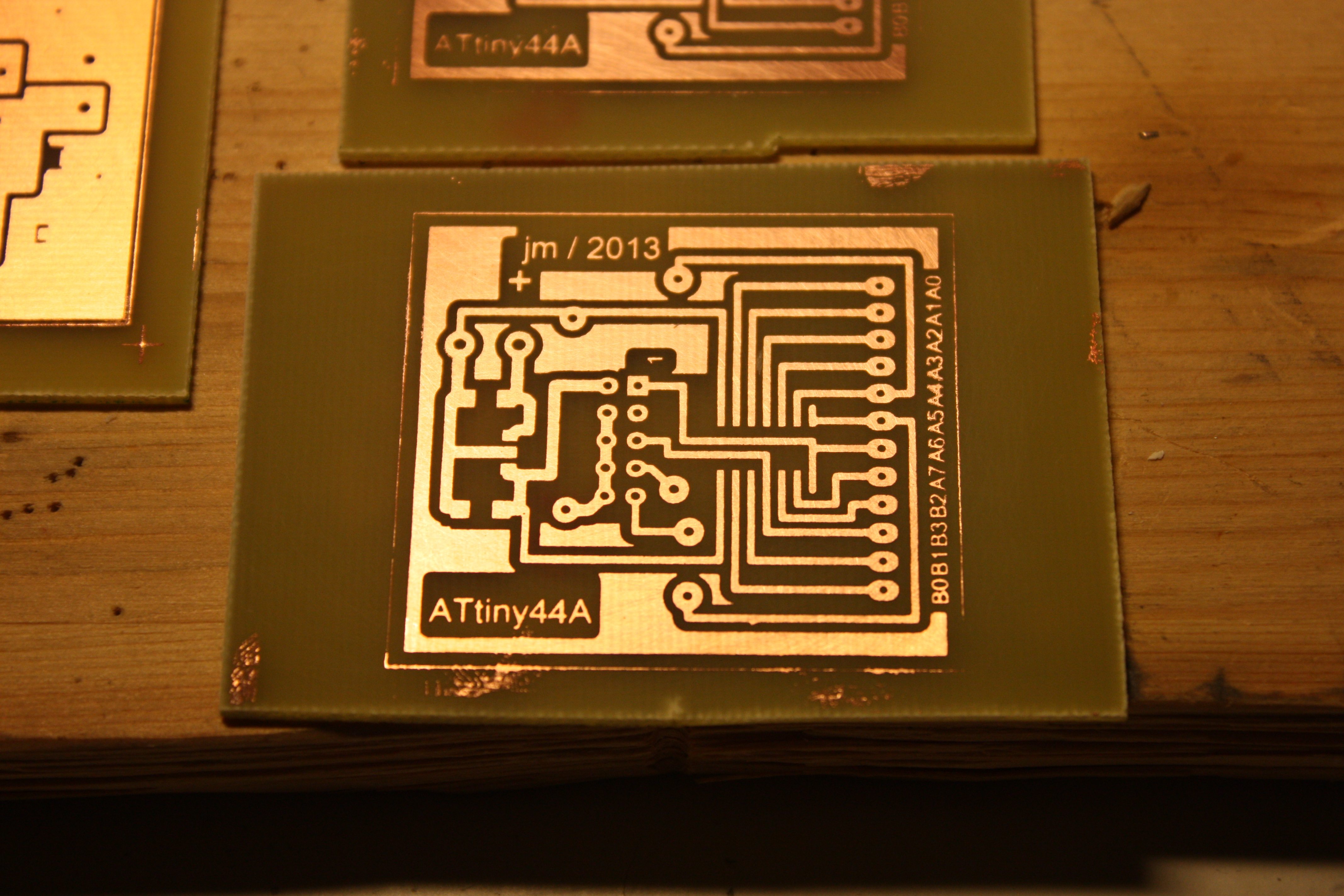 Diy Home Pcb Exposure And Etching Process Just Add Electrons Make Flexible Printing Circuit Board Etched It Looks Like My Manufacturing