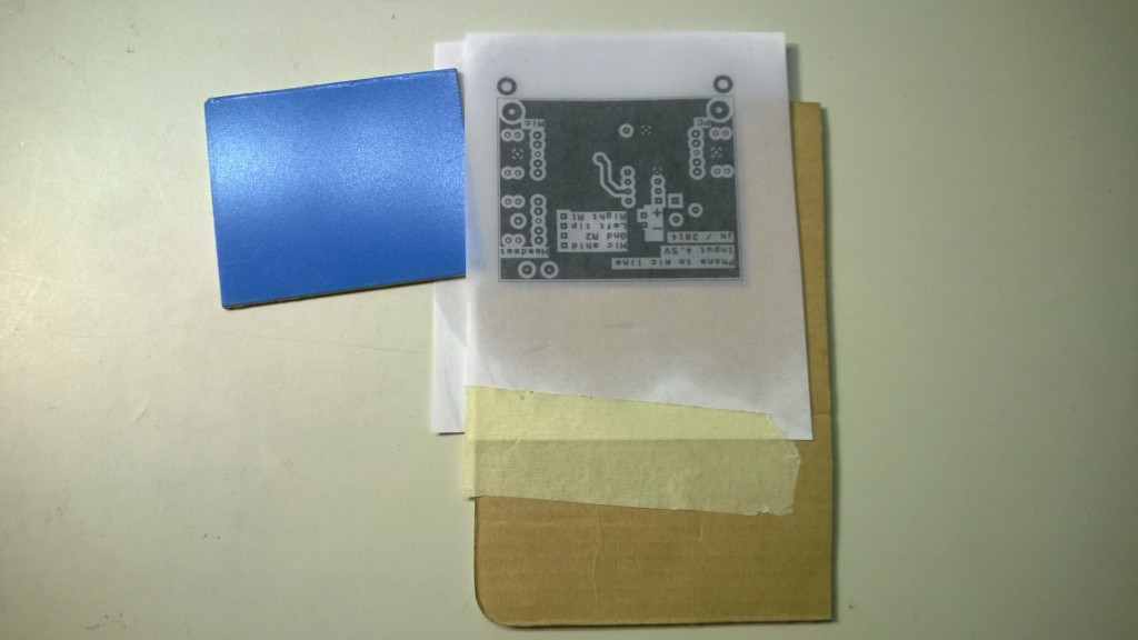 diy two sided pcb